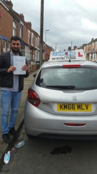 A big congratulations to Sohail Hussain Sohail passed his<br />