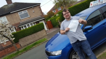 A big congratulations to Tom Jackson Tom passed his<br />