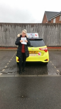 A big congratulations to Shannon Prince, who has passed her driving test today at Cobridge Driving Test Centre, with 6 driver faults.<br />
