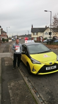 A big congratulations to Kieren Forrester, who has passed his driving test today at Cobridge Driving Test Centre, with 7 driver faults.<br />